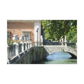 Royal Palace von Aranjuez Leinwanddruck