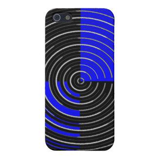 RoyalBlue Fall-ausgebuffter MattendeiPhone 5/5S Etui Fürs iPhone 5