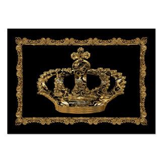 Royalee Boleyn Krone elegant Mini-Visitenkarten