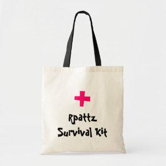 Rpattz Überlebensausrüstung Leinentasche