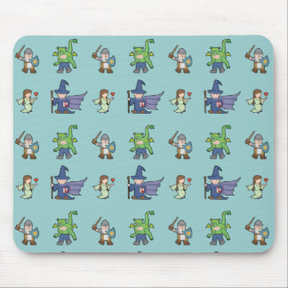 RPG-Cartoon-Kinder - Mousepad