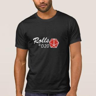 RPG - Rolls der D20 T-Shirt