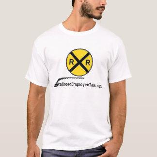 RRET großer Logo T - Shirt weiß