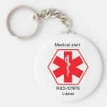 RSD Gesundheit medizinische wachsame keychains (ku Schlüsselanhänger