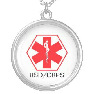 RSD medizinische wachsame Halskette CRPS