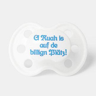 Ruah billige Plätz bayrisch Bayern Baby Schnuller