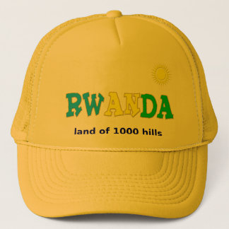 Ruanda das Land von 1000 Hügeln Truckerkappe