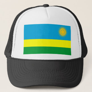 Ruanda-Landesflaggenationssymbol Truckerkappe