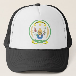 Ruanda-Wappen Truckerkappe