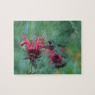 Rubin-throated Kolibri Puzzle