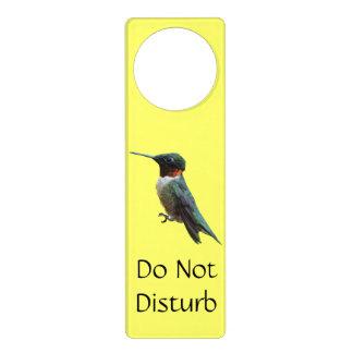 Rubin-Throated Kolibri-Vogel-Fotografie Türanhänger