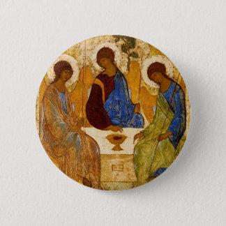 Rublev Dreiheit am Tisch Runder Button 5,7 Cm