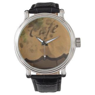 Rück Custom COFFE Armbanduhr
