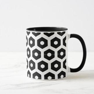 Rück Tasse schwarzweiße Windel