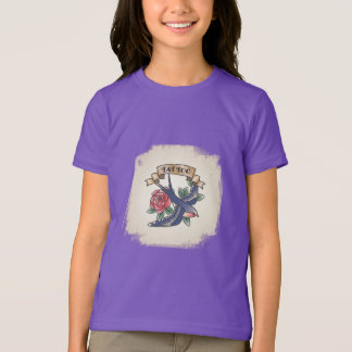 Rück Tätowierung vintage T-Shirt