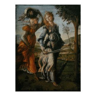 Rückkehr von Judith zu Bethulia durch Botticelli Poster