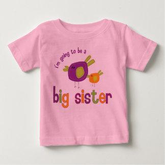 Rückseite der großen Schwester des Piepmatzes Tshirt
