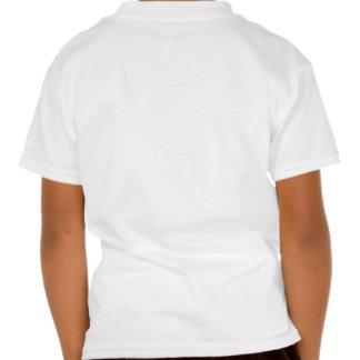 Rückseite DruckShirt-Blumen-Grasbäume Oakville T-shirt