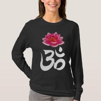 Rückseite OMs Lotus T-Shirt