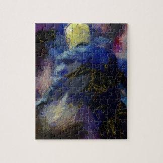 Rückseite Van Gogh Donald Trump Puzzle