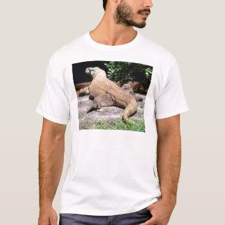 Rückseite von komodo Drachen T-Shirt