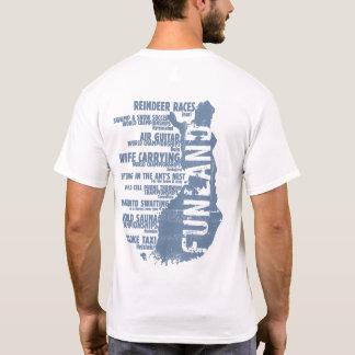 Rückseiten-T - Shirt Finnlands Funland Listen-3