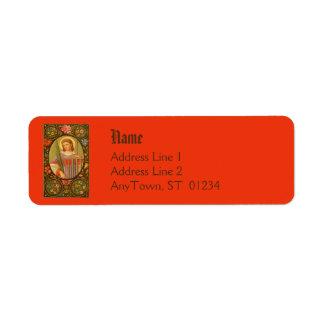 Rücksendeadresse-Aufkleber #1a St. Lawrence (P.M.