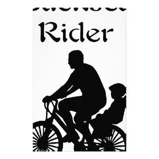 Rücksitz-Reiter Briefpapier