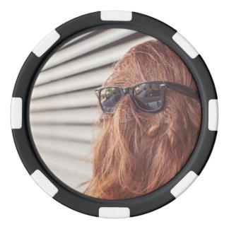 Rückwärts im Leben Poker Chip Set