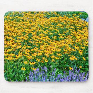 Rudbeckia Hirta und Lavendel Mousepads
