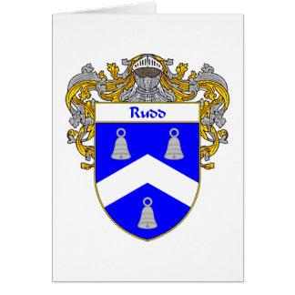 Rudd Wappen (überzogen) Karte