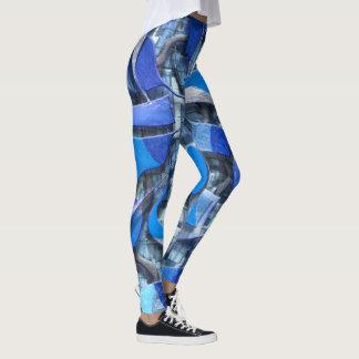 Ruder und Steuer (blau) Leggings