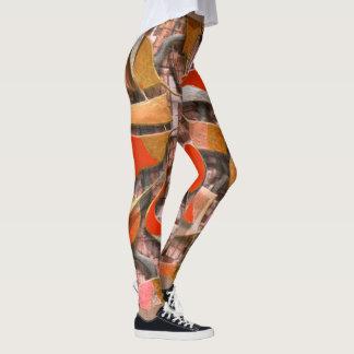 Ruder und Steuer (orange) Leggings