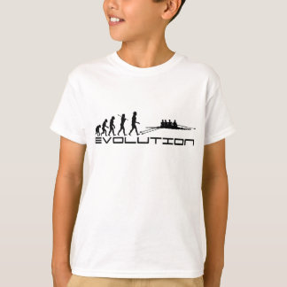 Rudersportrower-Wasser-Sport-Evolutions-Kunst T-Shirt