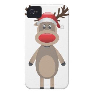 Rudolf der Ren-Weihnachtsniedliche Entwurf iPhone 4 Hüllen