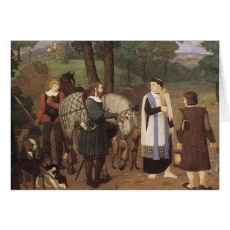 Rudolf von Habsburger und der Priester Karten