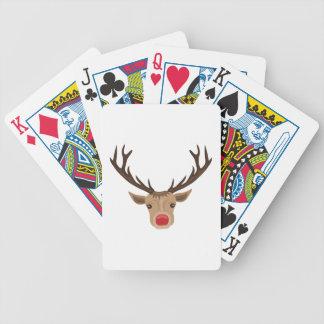 Rudolph Bicycle Spielkarten