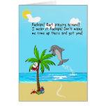 Rudolph der rotnasige Delphin Karten