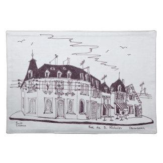Rue De D. Nicholas | Concarneau, Finistere Tischset