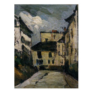 Rue-DES Saules. Montmartre durch Paul Cezanne Postkarte