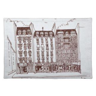 Rue du Dragon, Heilig-Germain-DES-Pres, Paris Tischset