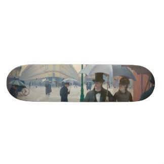 Ruede Paris Temps de Pluie durch Gustave
