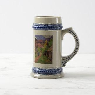 """""""Ruede Tahiti"""" - Paul Gauguin Stein Bierglas"""