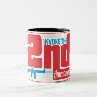 Rufen Sie das 2. hervor, schwärzen Sie 11 Unze Zweifarbige Tasse