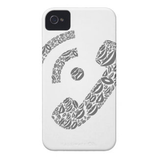 Rufen Sie eine Lippe an iPhone 4 Case-Mate Hüllen