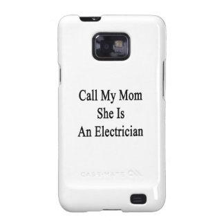 Rufen Sie meine Mamma an, die sie ein Elektriker i Samsung Galaxy SII Case