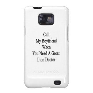 Rufen Sie meinen Freund an wenn Sie einen großen Samsung Galaxy SII Hülle