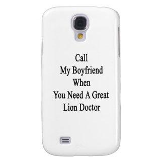 Rufen Sie meinen Freund an wenn Sie einen großen Galaxy S4 Hülle