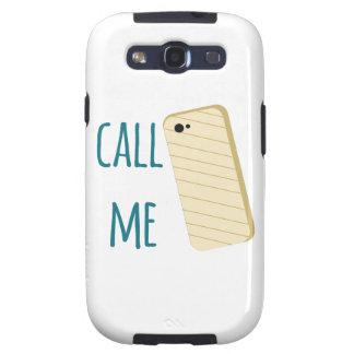 Rufen Sie mich an Samsung Galaxy S3 Hülle