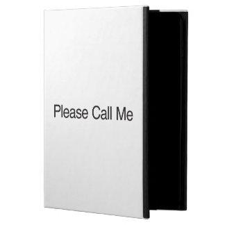Rufen Sie mich bitte an
